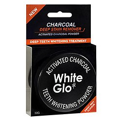 WHITE GLO Charcoal černý pudr 30 g