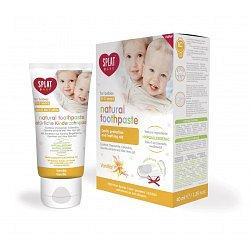 SPLAT Baby Dětská zubní pasta 0 - 3 roky 40 ml vanilka + prsťáček