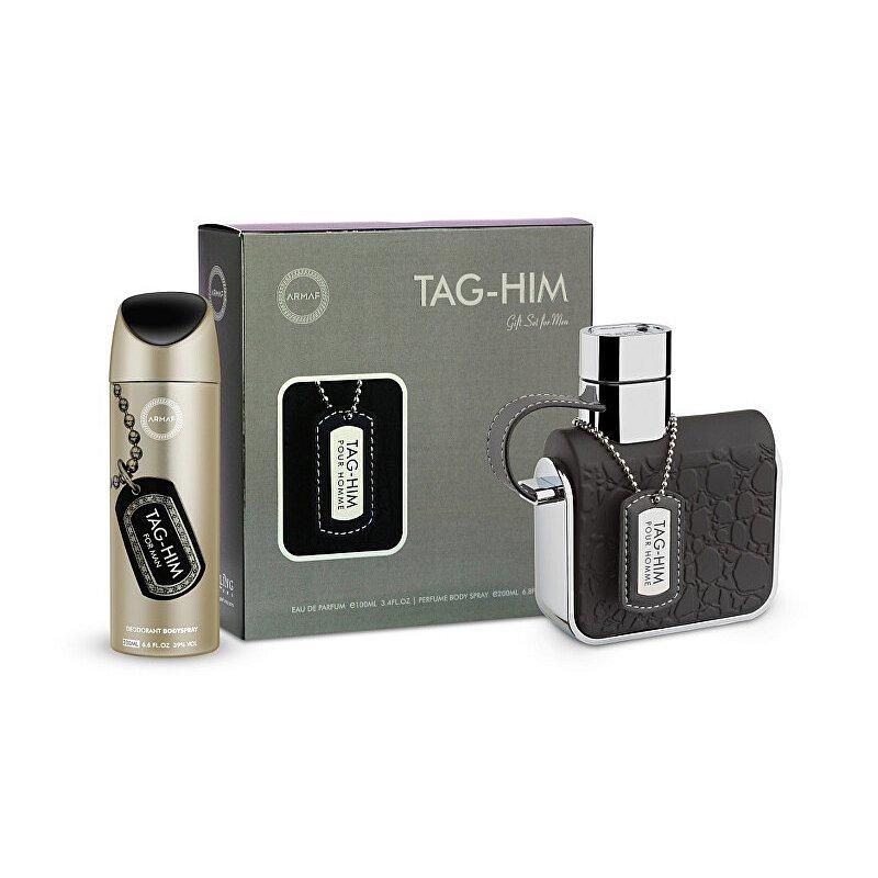 Armaf Tag-Him - EDT 100 ml + deodorant ve spreji 200 ml