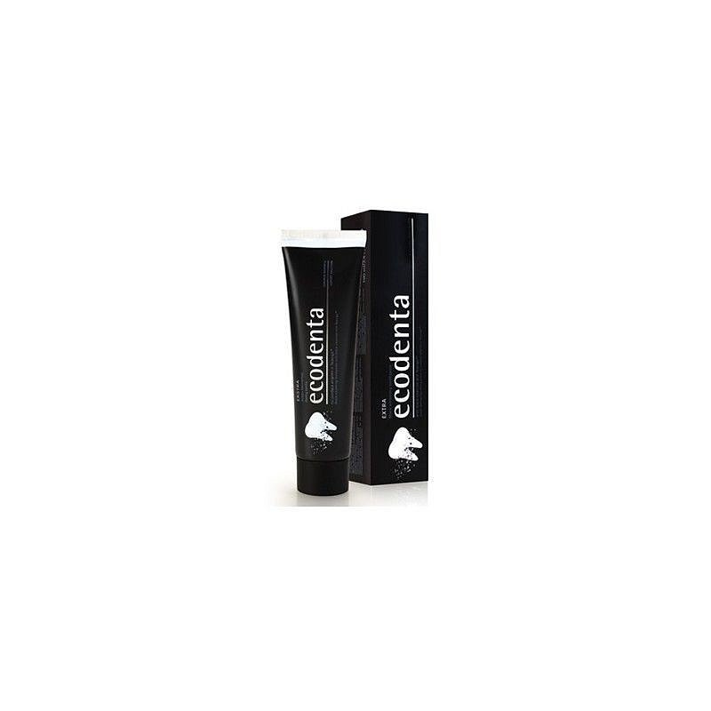 Ecodenta Zubní pasta bělící černá 100ml - II.jakost