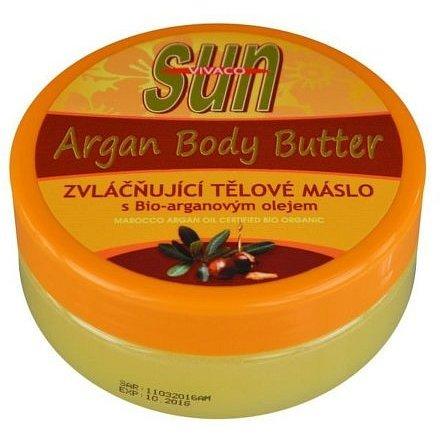 Zvláčňující tělové máslo a Bio-arganovým olejem