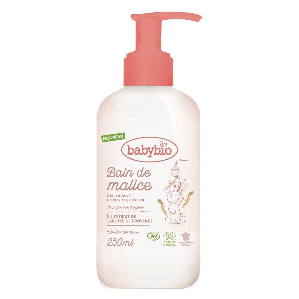BABYBIO Sprchový gel pro miminka od narození BIO 250 ml
