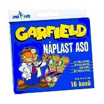 Náplast ASO Garfield 19x76mm KRB 16ks