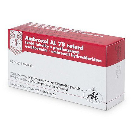 Ambroxol AL 75mg tablety 20ks