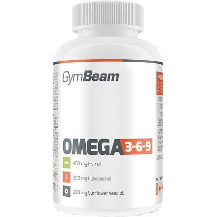 Gymbeam Omega 3-6-9 240 kapslí