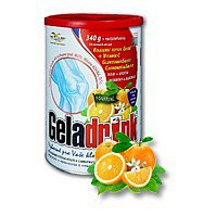 Geladrink Plus pomeranč 340g