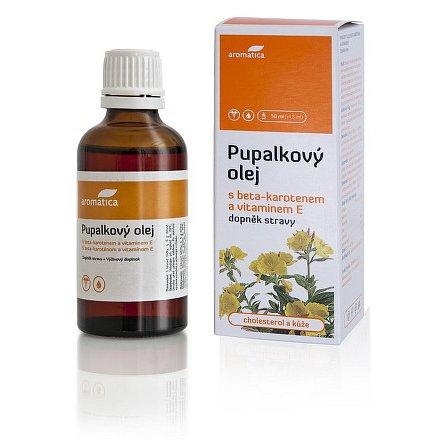 AROMATICA Pupalkový olej s beta-karot.a vitamín E 50 ml