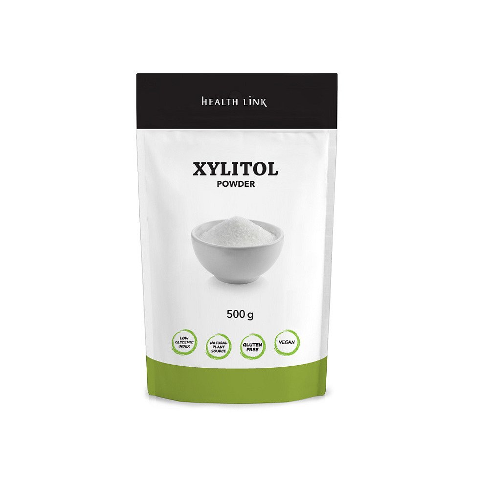 HEALTH LINK Xylitol prášek 500 g