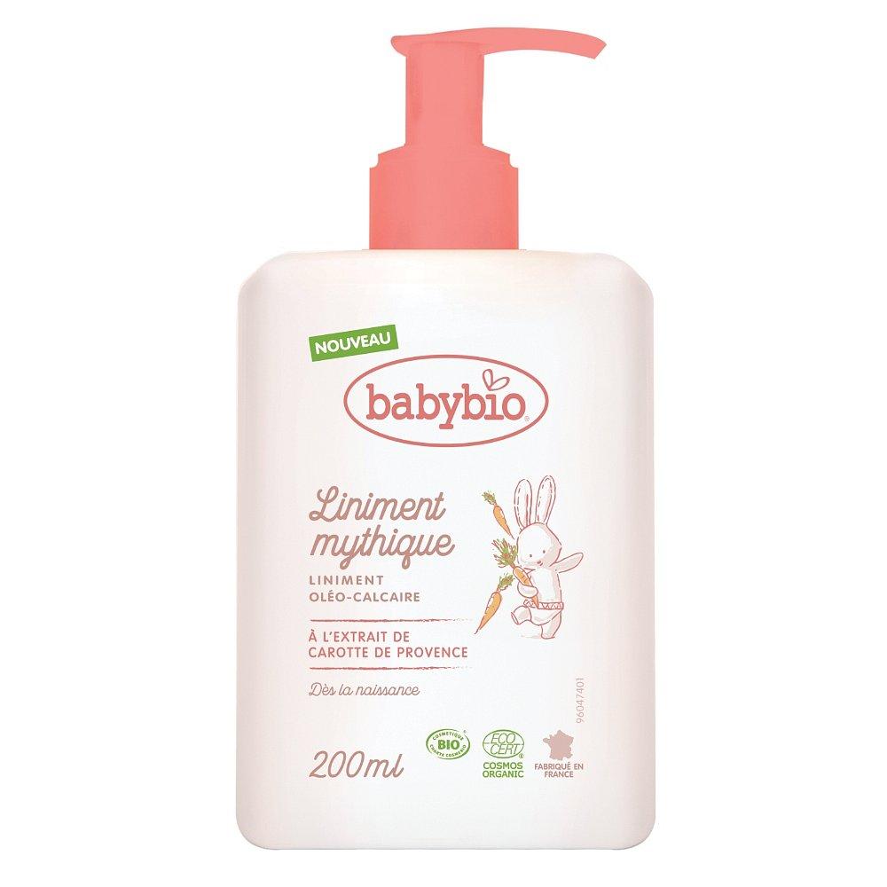 BABYBIO Přebalovací krém pro miminka od narození BIO 200 ml