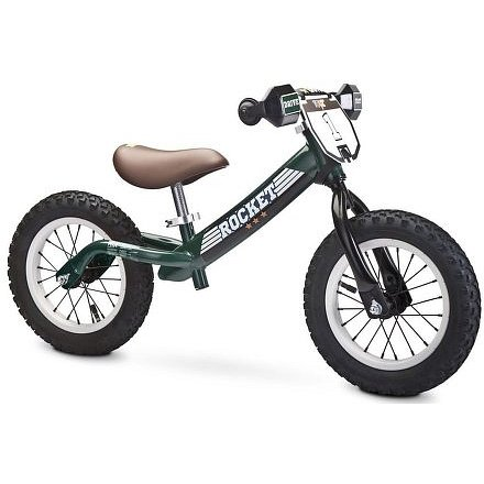 Dětské odrážedlo kolo Toyz Rocket green
