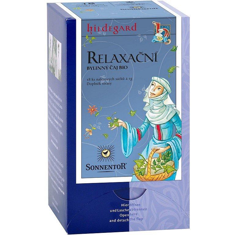 SONNENTOR Relaxační čaj sv. Hildegardy porcovaný BIO 18g