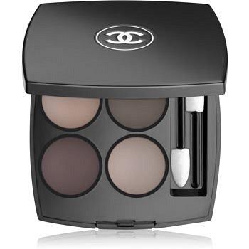 Chanel Les 4 Ombres intenzivní oční stíny odstín 322 Blurry Grey 2 g