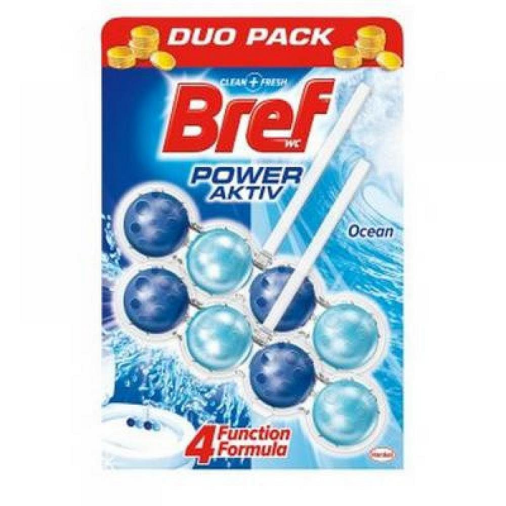 Bref Power activ WC blok 2*51g Ocean