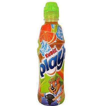 Kubík PLAY šťáva mrk+pomeranč+limetka 0.4l