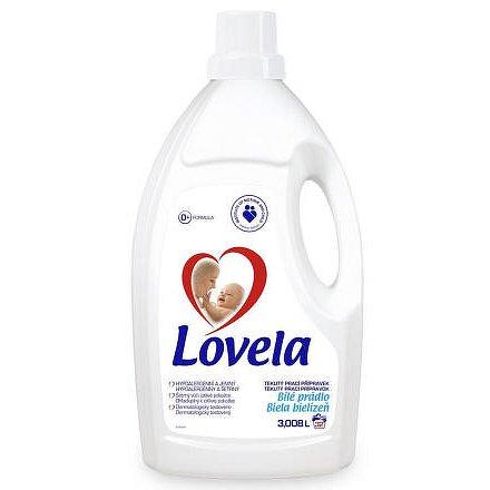 LOVELA gel bílá 3 L /  32 pracích dávek