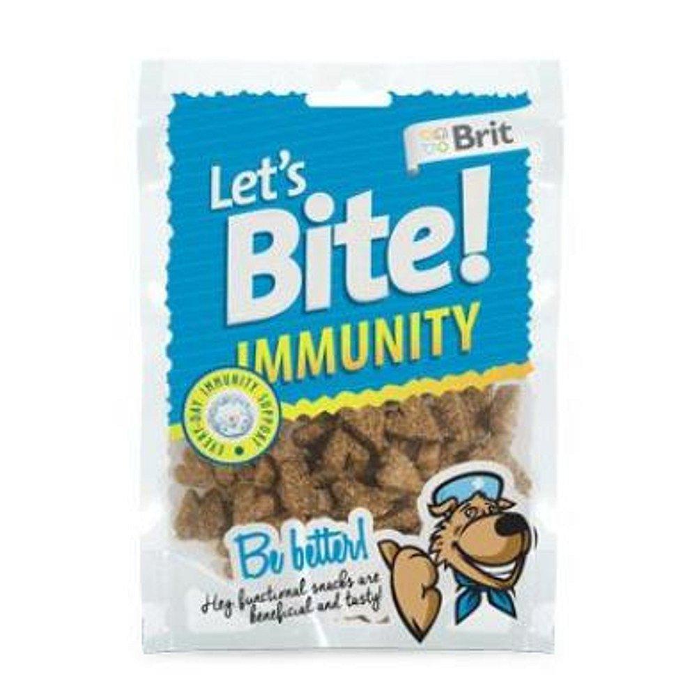 """BRIT pochoutka Let""""s Bite Immunity 150 g NEW"""