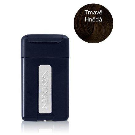 Nanogen keratinová vlákna zahušťovač vlasů (cestovní balení) 1.5g tmavě hnědá