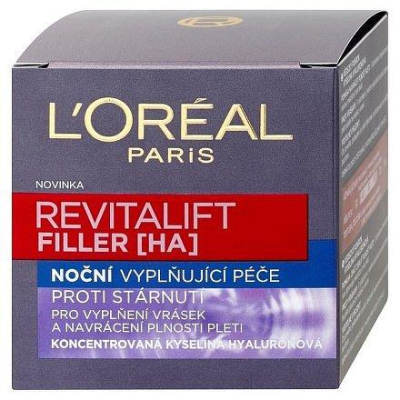 Revitalift Filler noční krém proti vráskám 50ml