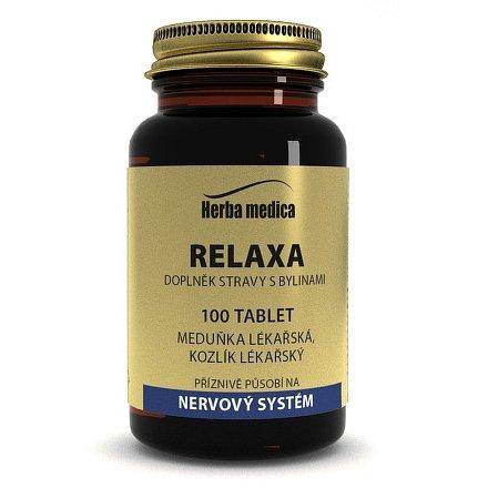 Herba medica Relaxa 100 tbl.