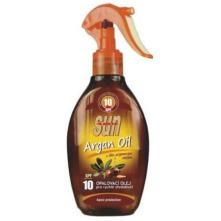 Opalovací olej s arganovým olejem OF 10 rozprašovací 200ml