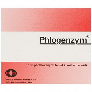 Phlogenzym Magensaftresistente tablety potažené 100