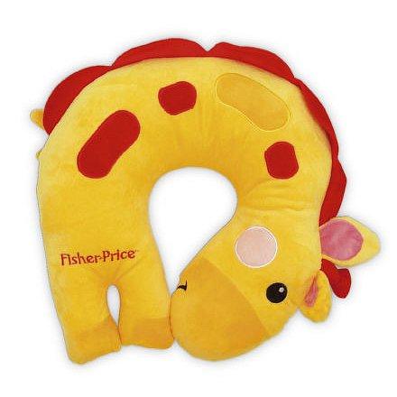 FP Polštářek do auta s motivem žirafy