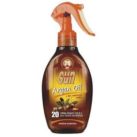 Opalovací olej s arganovým olejem OF 20 rozprašovací 200ml