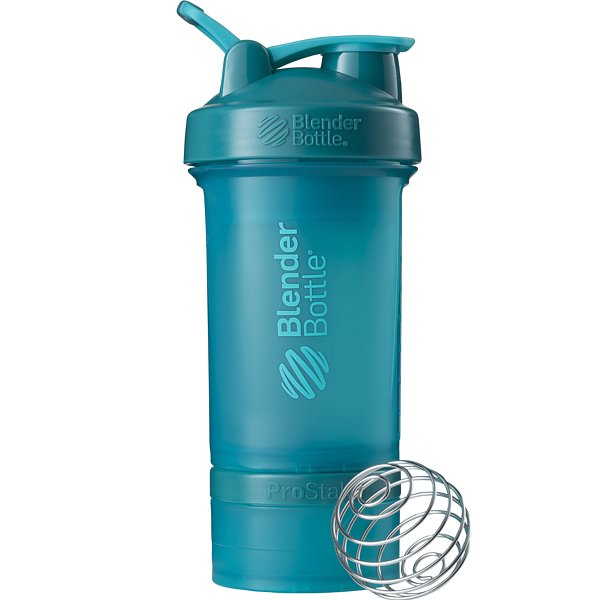 Blender Bottle Šejkr ProStak 450ml modrá