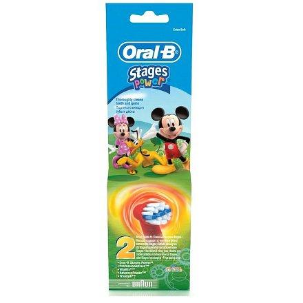 II. jakost Oral-B náhradní kart.EB 10-2 dětské 1 ks