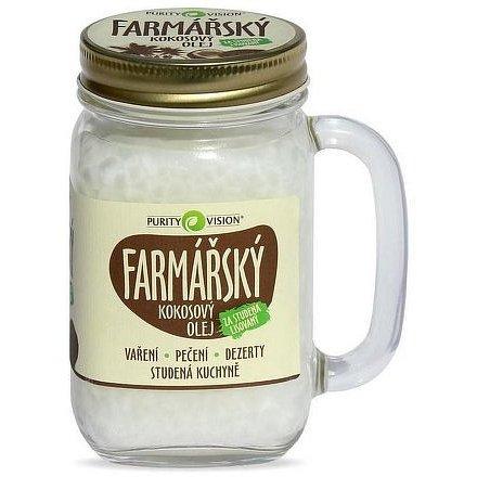 Purity Vision Kokosový olej farmářský 400 ml
