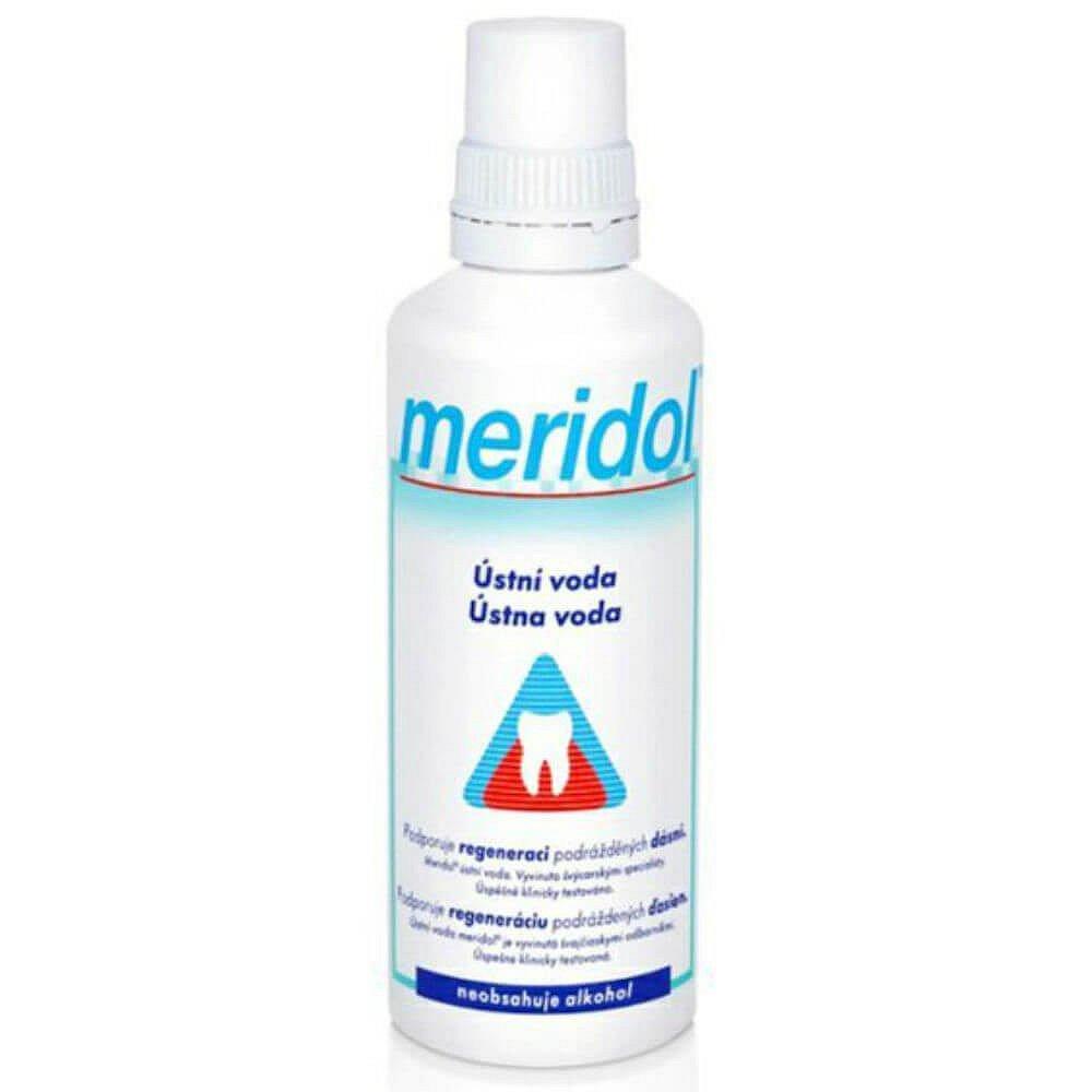MERIDOL ústní voda 400ml, poškozený obal