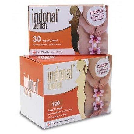 Indonal Woman 120 kapslí + 30 kapslí ZDARMA!