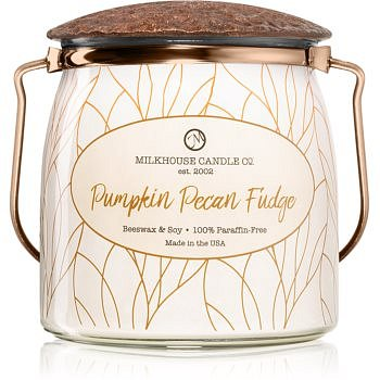 Milkhouse Candle Co. Creamery Pumpkin Pecan Fudge vonná svíčka Butter Jar 454 g