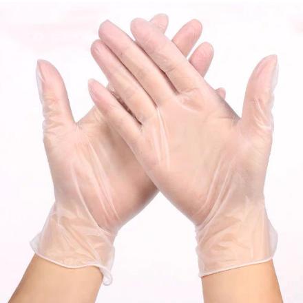 Průhledné jednorázové rukavice z latexu 50ks