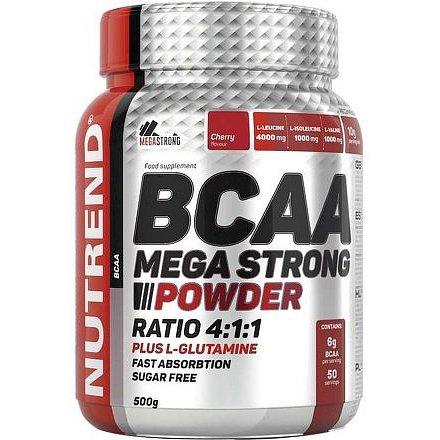 BCAA Mega Strong Powder, 500g, Cherry