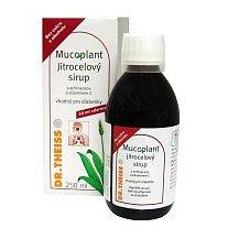 Mucoplant Jitrocel.sirup bez cukru+echinacea 123g