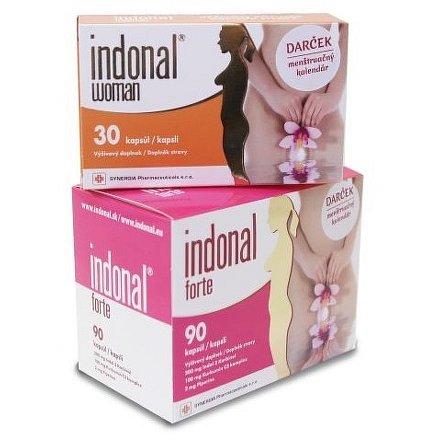 Indonal Forte 90 kapslí + 30 kapslí ZDARMA!