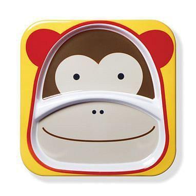 SKIP HOP Zoo Talířek 2v1 Opička