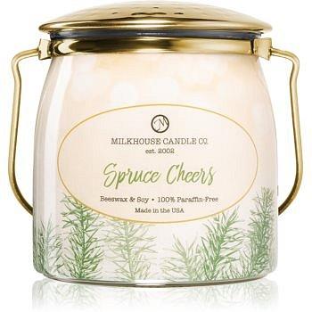 Milkhouse Candle Co. Creamery Spruce Cheers vonná svíčka Butter Jar 454 g
