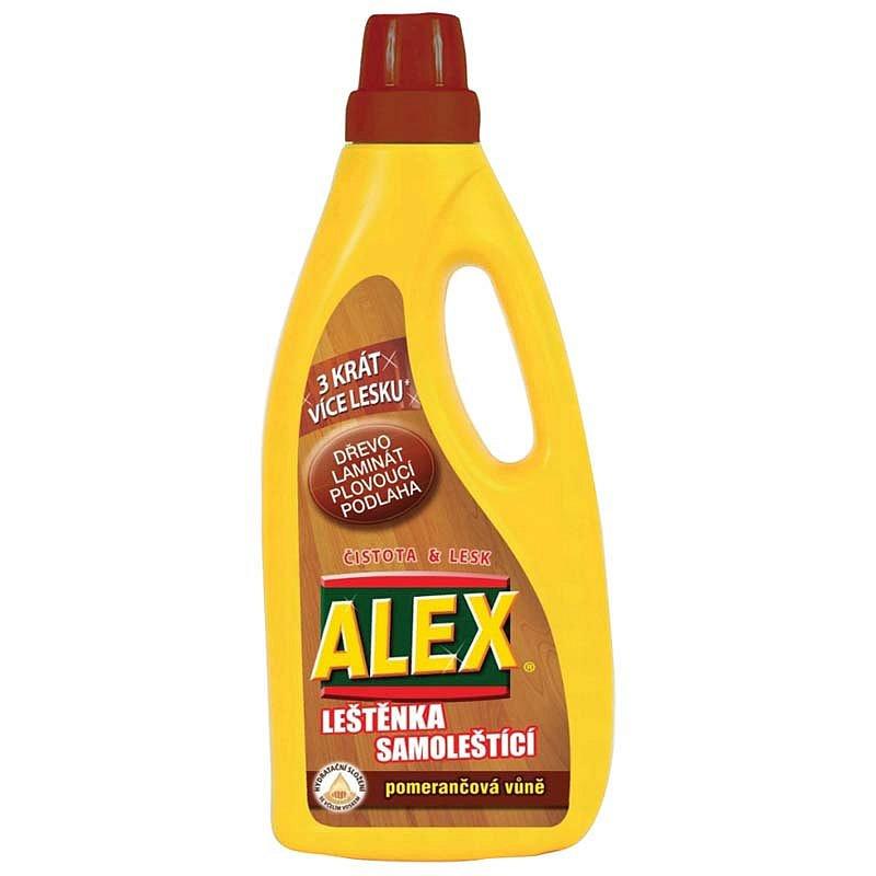 ALEX leštěnka na dřevo a laminát