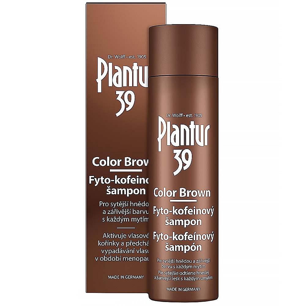 PLANTUR39 Color Brown Fyto-kofeinový šampon 250 ml