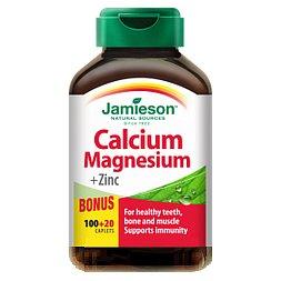 Jamieson Vápník, hořčík s vitamínem D3 120 tablet