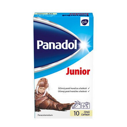 Panadol Junior 10 čípků