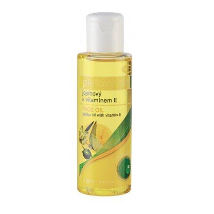 TOPVET Jojobový olej 100 % s vitamín E 100 ml