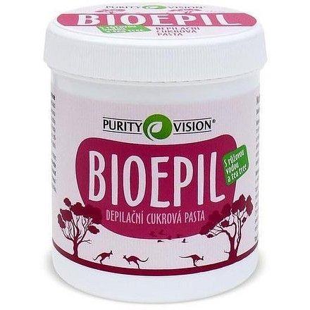 Purity Vision Depilační cukrová pasta Bioepil 400g