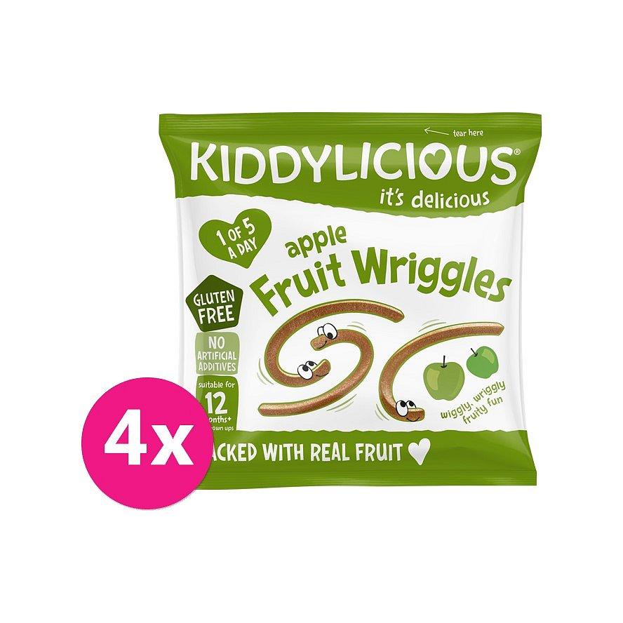 4 x KIDDYLICIOUS Žížalky jablečné
