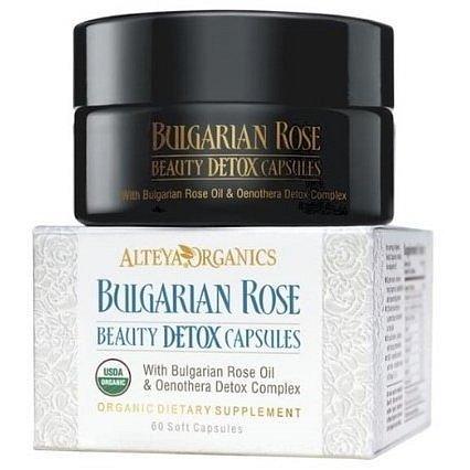 Alteya Detoxikační tobolky z růžového oleje Bio 60 kapslí