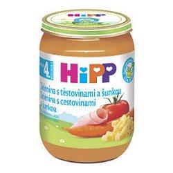 HiPP BABY MENU BIO Zelenina s těstovinami a se šunkou 190g