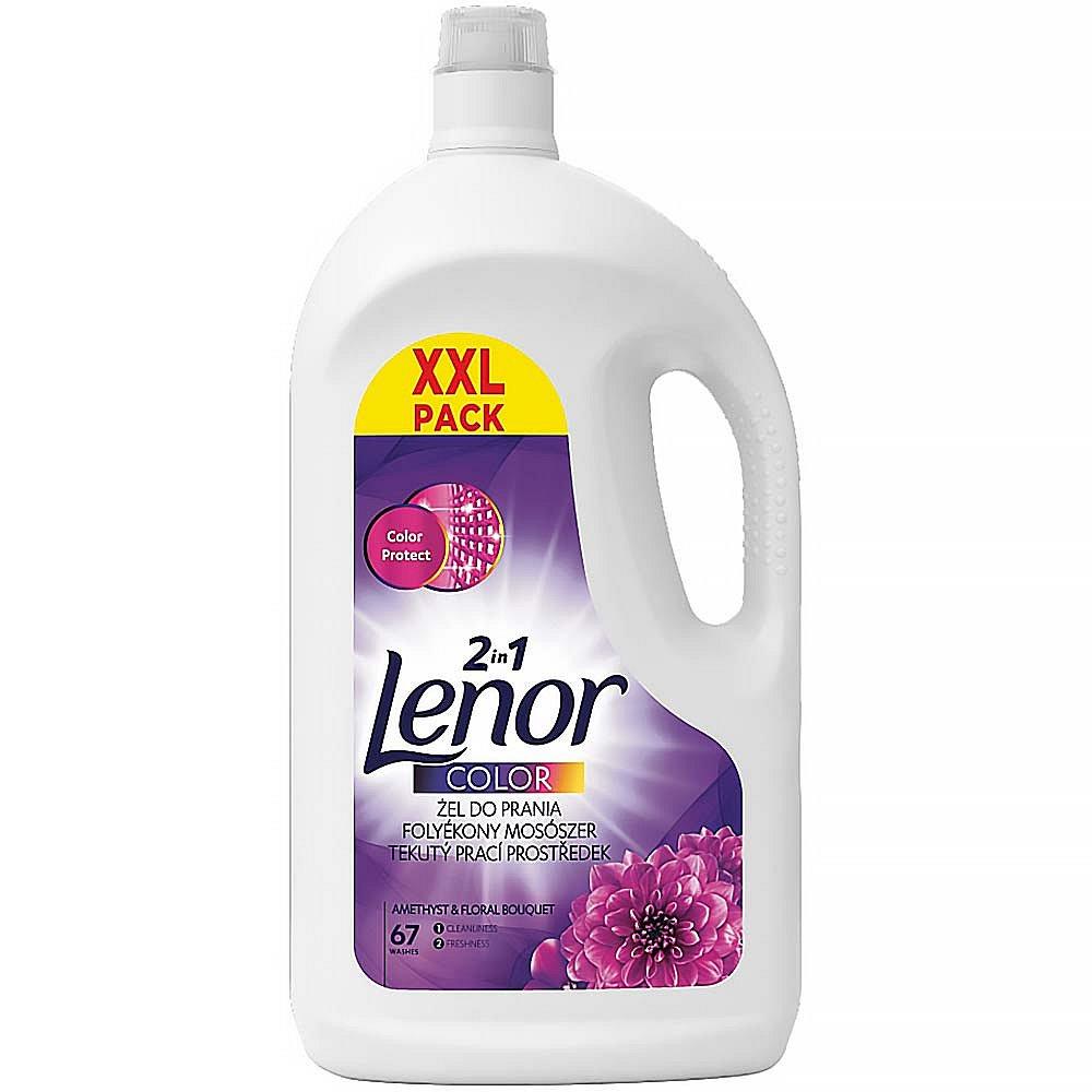 LENOR Amethyst & Floral Bouquet Tekutý prací prostředek 67 praní