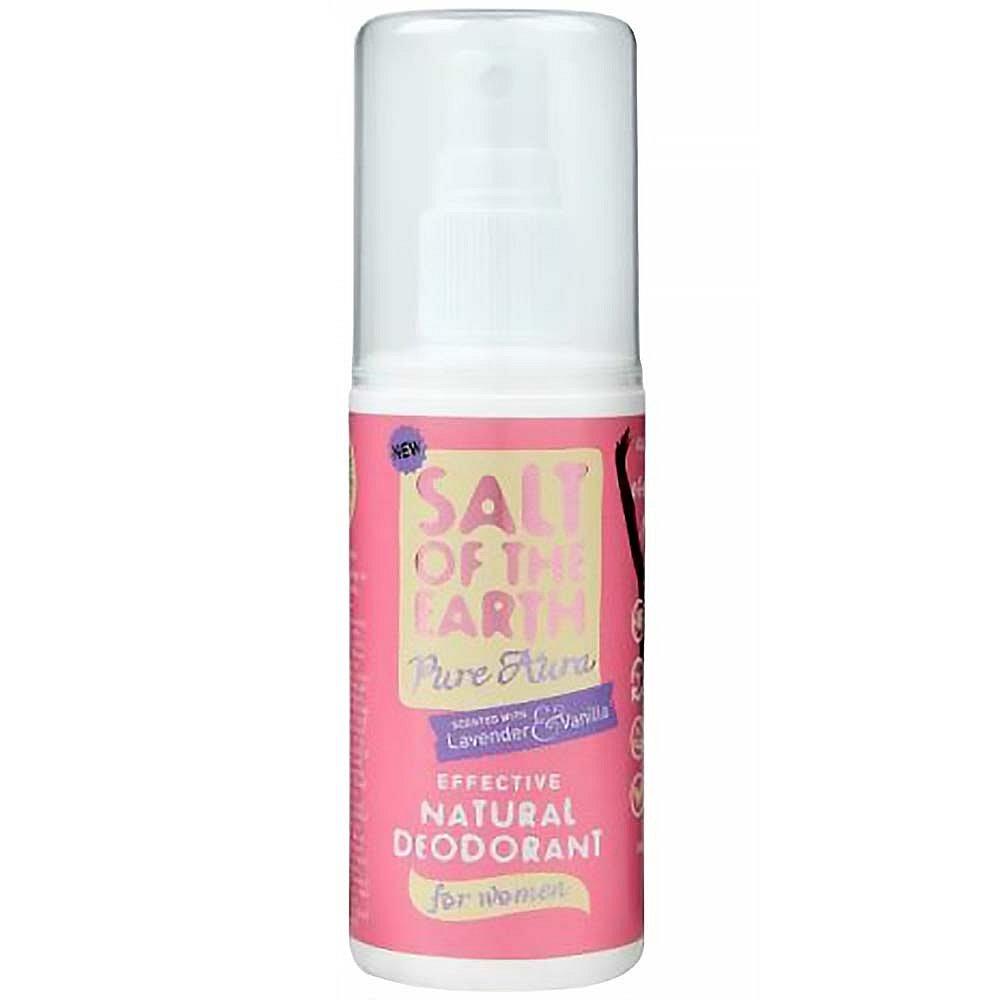 ALVA Crystal Spring Deo sprej Pure Aura levandule-vanilka 100 ml